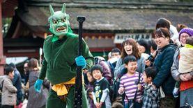 เทศกาลปาถั่ว ไล่ยักษ์ เซ็ทสึบุน บอกลาหน้าหนาวที่ญี่ปุ่น