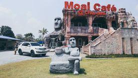 โมอาย คาเฟ่ ชะอำ นั่งชิลล์ในร้านกาแฟบรรยากาศดี จิบชาเบาๆ ยามบ่าย
