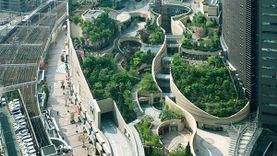 แลนด์มาร์คสีเขียว โอซาก้า นัมบะพาร์ค 1 ใน 10 สวนลอยฟ้าที่สวยที่สุดในโลก