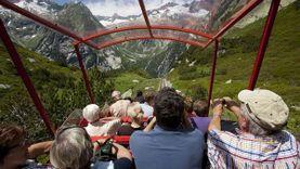 ชวนนั่ง รถราง สวิตเซอร์แลนด์ เสียวที่สุดในโลก ที่เกลเมอร์บาห์น