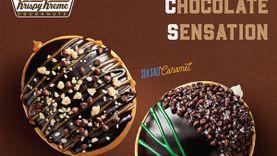 สัมผัสรสชาติใหม่สุดคูล กับช็อคโกแลตเน้นๆ คอมบิเนชั่นความอร่อย ด้วย คริสปี้ ครีม ช็อคโกแลต เซนเซชั่น