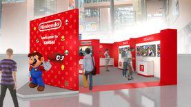 สนามบินนานาชาติ คันไซ ในญี่ปุ่น เปิดโซนใหม่ เล่นเกม Nintendo ฟรี!