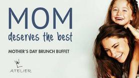 บุฟเฟ่ต์ มื้อพิเศษฉลอง วันแม่แห่งชาติ 2560 ณ ห้องอาหารอเทลิเย่