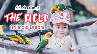 สวนสัตว์ เพชรบุรี The Field Animals Dream ที่เที่ยวใหม่ โดนใจทั้งครอบครัว