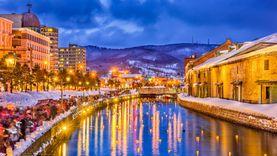 เทศกาล งานแสดงไฟ ฤดูหนาว Otaru Snow Light Path Festival 2018