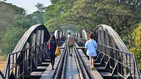 เที่ยว สะพานข้ามแม่น้ำแคว กาญจนบุรี อนุสรณ์สงครามมหาเอเชียบูรพา