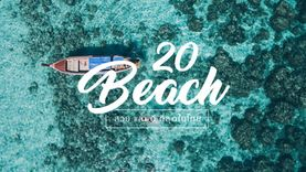 หน้าร้อนนี้ เที่ยวไหนดี ? 20 ชายหาด ที่ดีที่สุดในประเทศไทย