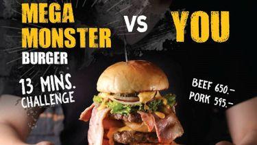 สายแข็งห้ามพลาด Teddy's Bigger Burgers ท้าประลองเบอร์เกอร์ไซส์ยักษ์ ลุ้นกินฟรีกันไป!