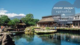 เที่ยวหมู่บ้านน้ำใส โอชิโนะฮักไก ใกล้ภูเขาไฟฟูจิ ชิมโมจิย่างเลื่องชื่อ (มีคลิป)
