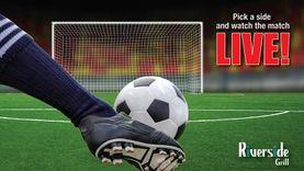 แฟนบอลฟังทางนี้ ! ห้องอาหารริเวอร์ไซด์ กริลล์ จัดฟุตบอลแฟนโซน ถ่ายทอดสดฟุตบอลระดับโลกครั้ง