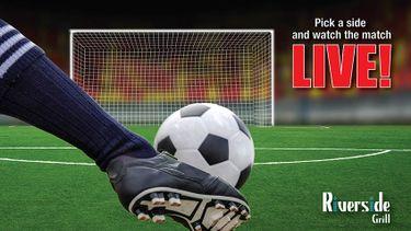 แฟนบอลฟังทางนี้ ! ห้องอาหารริเวอร์ไซด์ กริลล์ จัดฟุตบอลแฟนโซน ถ่ายทอดสดฟุตบอลระดับโลกครั้งยิ่งใหญ่ในปี 2561