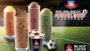 แบล็คแคนยอน Go Go Goal Football Crazy Festival มอบความสนุกและความอร่อย