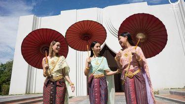 ณ สัทธา อุทยานไทย ที่เที่ยวใหม่ ราชบุรี เดินเล่น ถ่ายรูปสวย เที่ยวใกล้กรุงเทพ ที่คุณไม่ควรพลาด
