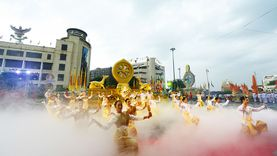 ชวนคนไทยไปชม 11 ริ้วขบวน พระบรมธาตุ พุทธศิลป์ แผ่นดินพระทรงธรรม อัญเชิญพระบรมสารีริกธาตุ 5