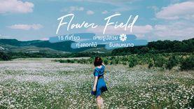 เที่ยวหน้าหนาว เดินชิล 15 ทุ่งดอกไม้ ที่เที่ยวถ่ายรูปสวย รับลมหนาว ที่ไหนดี