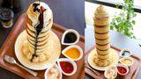 แพนเค้กฟูจิ จานใหญ่ยักษ์ ที่ LAVA CAFE กินหมดฟรีไปเล้ย
