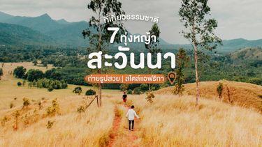 7 ที่เที่ยวธรรมชาติ ทุ่งหญ้าสะวันนาสไตล์แอฟริกา เที่ยวไทยยังไง ให้เหมือนไปเมืองนอก