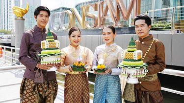 ลอยกระทง ICONSIAM CHAO PHRAYA RIVER OF LIFE อนุรักษ์ประเพณีไทยในเทศกาลลอยกระทงรักษ์โลก