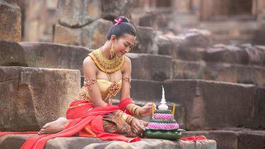 แต่งชุดไทยเที่ยวงาน ลอยกระทง บุรีรัมย์ 22 พ.ย.นี้ ที่ ปราสาทเมืองต่ำ