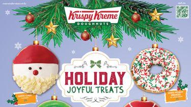 คริสปี้ ครีม Krispy Kreme พร้อมแจกความอร่อยรับเทศกาลแห่งความสุขส่งท้ายปี กับ 4 รสชาติใหม่