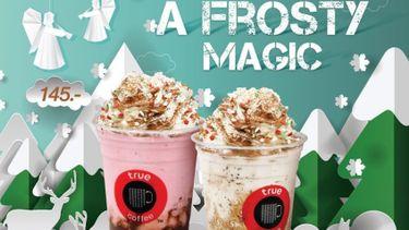 """ทรูคอฟฟี่ เสิร์ฟ 2 เมนูเครื่องดื่มปั่น """"Strawberry Chocolate Frosty"""" และ """"Mocha Brown Frosty"""" ดื่มด่ำความสุขตลอดเทศกาล"""