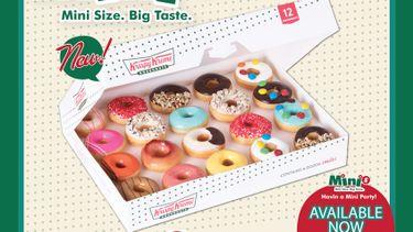 คริสปี้ ครีม (Krispy Kreme) ชวนทุกคนลิ้มรสมินิโดนัทแสนอร่อย 20 สไตล์สุดคิ้วท์