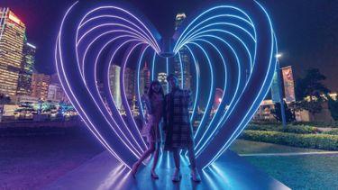 เดินดูไฟสวยๆ ที่ฮ่องกง รับเดือนแห่งความรัก ที่งาน International Light Art Display