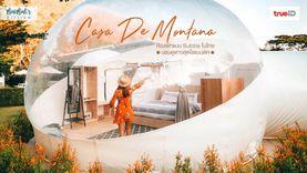 ที่พักสวย เขาใหญ่ ห้องพักแบบ Bubble ในไทย Casa De Montana นอนดูดาว สุดโรแมนติก