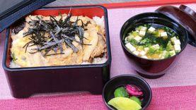 ข้าวอูรุจิไมหน้าไก่ตุ๋นเห็ดกับไข่ ห้องอาหารคิซาระ โรงแรมคอนราด กรุงเทพฯ
