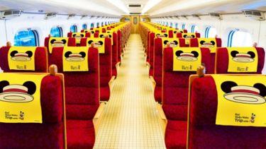 รถไฟชินคันเซ็นลายใหม่ Disney Mickey Mouse เตรียมวิ่งแล้วเร็วๆ นี้ !