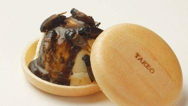 ฉีกกฎทุกของหวาน ! ไอศครีมจิ้งหรีด มีให้ลองแล้วในญี่ปุ่น กรุบกรอบได้โปรตีน