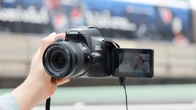 แคนนอนเปิดตัว EOS 200D II กล้องดีเอสแอลอาร์ตัวเล็กที่สุด เบาที่สุด  อัดแน่นด้วยเทคโนโลยีสุ