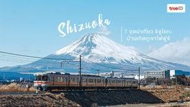 เที่ยวญี่ปุ่น รวมมิตร 7 จุดน่าเที่ยว ชิซูโอกะ จังหวัดบ้านเกิดภูเขาไฟฟูจิ