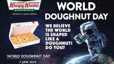คริสปี้ ครีม ชวนคุณอิ่มบุญ สุขใจกับ วันโดนัทโลก World Doughnut Day 7 มิ.ย. นี้