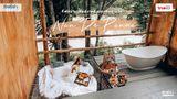 ที่พักน่าน สไตล์บาหลี สุดโรแมนติก Nan De Panna แช่จากุซซี่กลางป่า