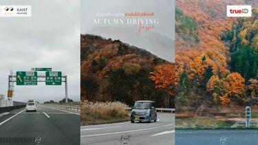 ขับรถเที่ยวญี่ปุ่น ช่วงใบไม้เปลี่ยนสี ต.ค.-พ.ย. วิธีเตรียมตัวสำหรับมือใหม่