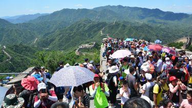 ทะลักแล้วจ้า! กำแพงเมืองจีน จำกัดจำนวนนักท่องเที่ยว ไม่เกิน 65,000 คนต่อวัน