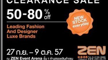 ZEN Big Sale 2014