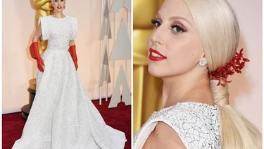 NARS สร้างสรรค์ลุคสุดแจ่มให้ Lady Gaga ใน Oscars 2015