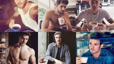 ร้อนกว่ากาแฟก็หนุ่มๆนี่แหละค่ะ! รวม 18 หนุ่มสุดฮอตจิบกาแฟยามเช้า