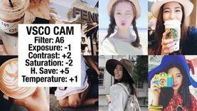 ไอเดียแต่งรูปให้สวยอินเทรนด์ แถมมีสไตล์เหมือน 10 ไอดอลวัยทีน ด้วยแอพ VSCO Cam !!