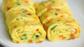 อร่อยง่ายใน 5 นาที! กับเมนูไข่ม้วนสไตล์เกาหลี ที่ใครๆ ก็ทำได้!