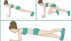 รวมท่าออกกำลังกายที่ ทำท่าเดียว ลดได้ทั้งตัว