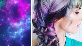 เทรนด์ใหม่! ทำสีผม Galaxy Hair สวยสไตล์กาแลคซี่ ดูดีทะลุอวกาศ