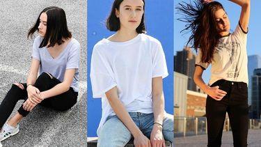 10 ทริคใส่เสื้อยืดกางเกงยีนส์ให้สวยดูดี BASIC LOOK สุดง่ายที่ใครก็แต่งตามได้ไม่ยาก!