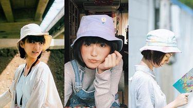 รวมแฟชั่นหมวกฮิปสเตอร์ BUCKET HAT ฉบับกุ๊กไก่ มาลีเพื่อนรักฯ
