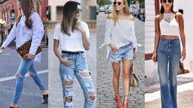 4 เสื้อขาว+กางเกงยีนส์ CLASSIC STYLE ลุคสบายๆ สวยง่าย ไม่เคยตกเทรนด์!