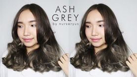 How to ทำผมสีเทาหม่น Ash Grey ด้วยตัวเอง สวยเหมือนทำร้านในราคาหลักร้อย!