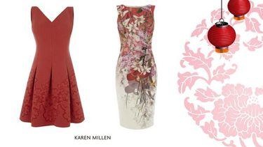 Karen Millen จัดแฟชั่นชุดแดงทรงพลัง สวยเริ่ดหรู ต้อนรับตรุษจีน