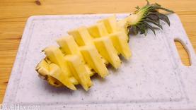 เทคนิค ปอกสับปะรด ใน 1 นาที ให้สวยน่าทานแบบในภัตตาคาร